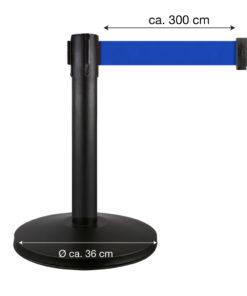 in liner afzetpaaltjes Belt 50cm blauw