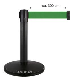 in liner afzetpaaltjes Belt 50cm groen