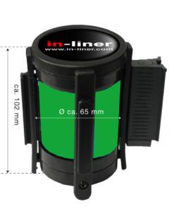 in liner onderdelen cassette 300cm groen