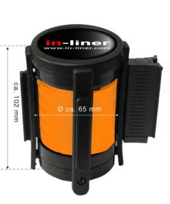 in liner onderdelen cassette 300cm oranje