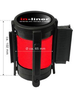 in liner onderdelen cassette 300cm rood