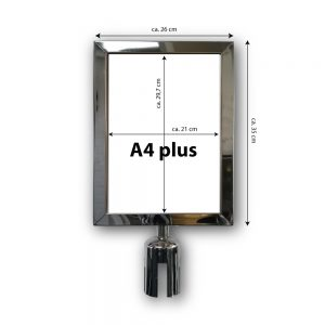 signhouder-A4-plus-INOX-gepolijst-wit